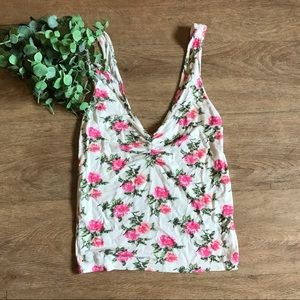 AEO • Soft & Sexy Floral Tank